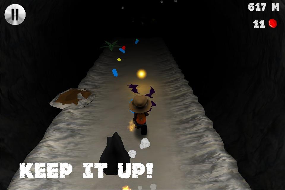 Screenshot CaveRun3D(洞穴探险)